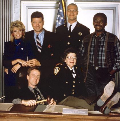 Night Court - (1984-92). Starring: Harry Anderson, John Larroquette, Richard Moll, Selma Diamond, Charles Robinson,  Markie Post, Florence Halop, Marsha Warfield, John Astin, Mary Cadorette, Yakov Smirnoff and Mel Torme. Guest List: Bill Kirchenbauer, Deborah Harmon, Frank Bonner, Harold Gould, Mary Jo Catlett, Gail Edwards, Dr. Joyce Brothers, Hal Smith, James Widdoes, Michael J. Fox, Paul Kreppel, Charles Napier, Dinah Manoff, Ray Walston, Vincent Schiavelli, Stella Stevens and Jack…