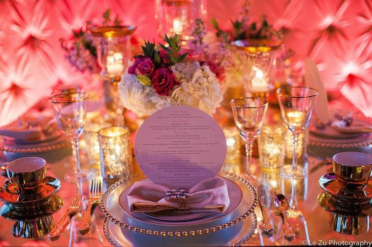 Absolutely Dazzling #Wedding table magic from Johanna Terry Events Le Zu Photography and The Astorian