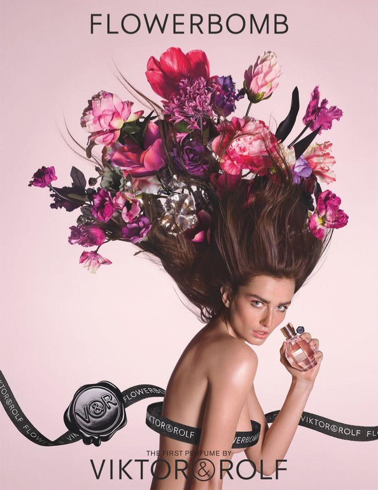 Viktor & Rolf unveil new Flowerbomb perfume campaign