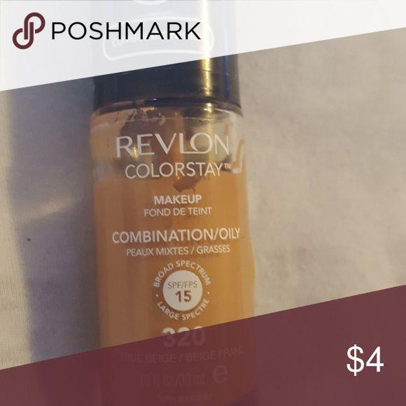 Revlon  foundation For oily skin ..color is true beige 320 Revlon Makeup Foundation
