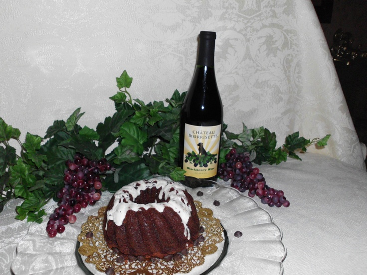 LIKE us if you like us ♥  One of the beautiful cakes our Top Fan will get to choose from.      Blackberry Chocolate Pound Cake ♥    Chocolate Pound Cake infused with Chateau Morrisette Winery Blackberry Dessert Wine    Like them on FB  http://www.facebook.com/heavensgatecatering    if you cant wait  http://74.220.215.82/~heavenu0/shoponline/index.php/virginia-wine-pound-cakes/chocolate-wine-pound-cake-blackberry-dessert.html  Tag PhotoAdd LocationEdit
