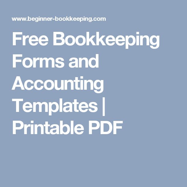 The 25+ best Accounting ideas on Pinterest Small business - printable accounting forms
