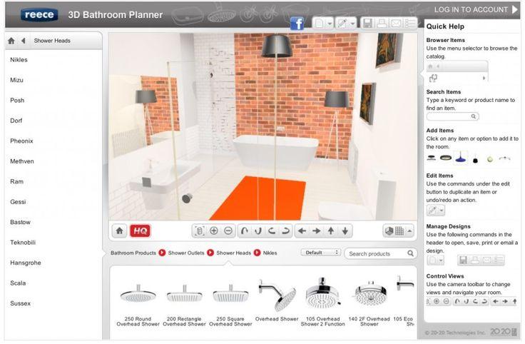 Badezimmer Design Tool (mit Bildern) Modernes