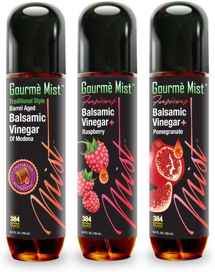 Balsamic vinegar bottles by Claytowne.