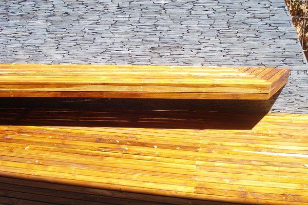 Carpintería, decks, portadas, Medellín, Colombia, muebles en madera, materas en madera, especialistas en madera, exteriores, bancas, contenedores para materas, pérgolas, fachadas