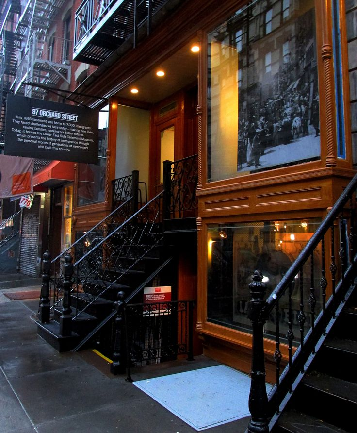 Tenement Museum . My gg-grandfather and his nephew lived here (97 Orchard) in 1907. Being able to tour this blew me away.