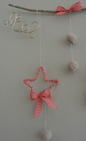 Haz click en la imagen para descubrir ideas para llenar de decoración de estrellas de Navidad tu hogar. Este adorno de Navidad nos ha encantado. ¡Es muy original! Para más pines como éste visita nuestro tablón. Espera! > No te olvides de repinearlo si te gustó! #estrellas #navidad #estrellasnavidad #decoraciondenavidad
