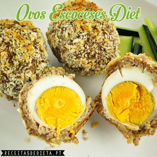 Ovos Escoceses Diet #receita #dieta #regime #emagrecer