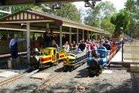 Diamond Valley Railway Diamond Valley Railway was established in 1960 with the aim of providing people, who are not normally railway men and women with the opportunity of building and operating a real passenger carrying railway system in miniature.