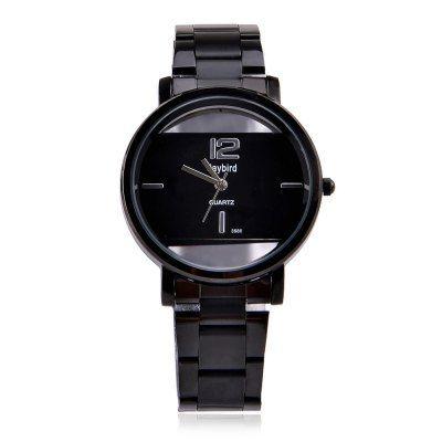 Hoy con el 30% de descuento. Llévalo por solo $30,100.Daybird de 3586 hombres reloj de cuarzo transparente del reloj de marcación.