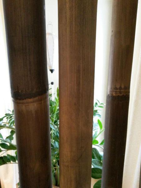 Ber ideen zu paravent garten auf pinterest paravent selber bauen balkon selber bauen - Garten paravent bambus ...