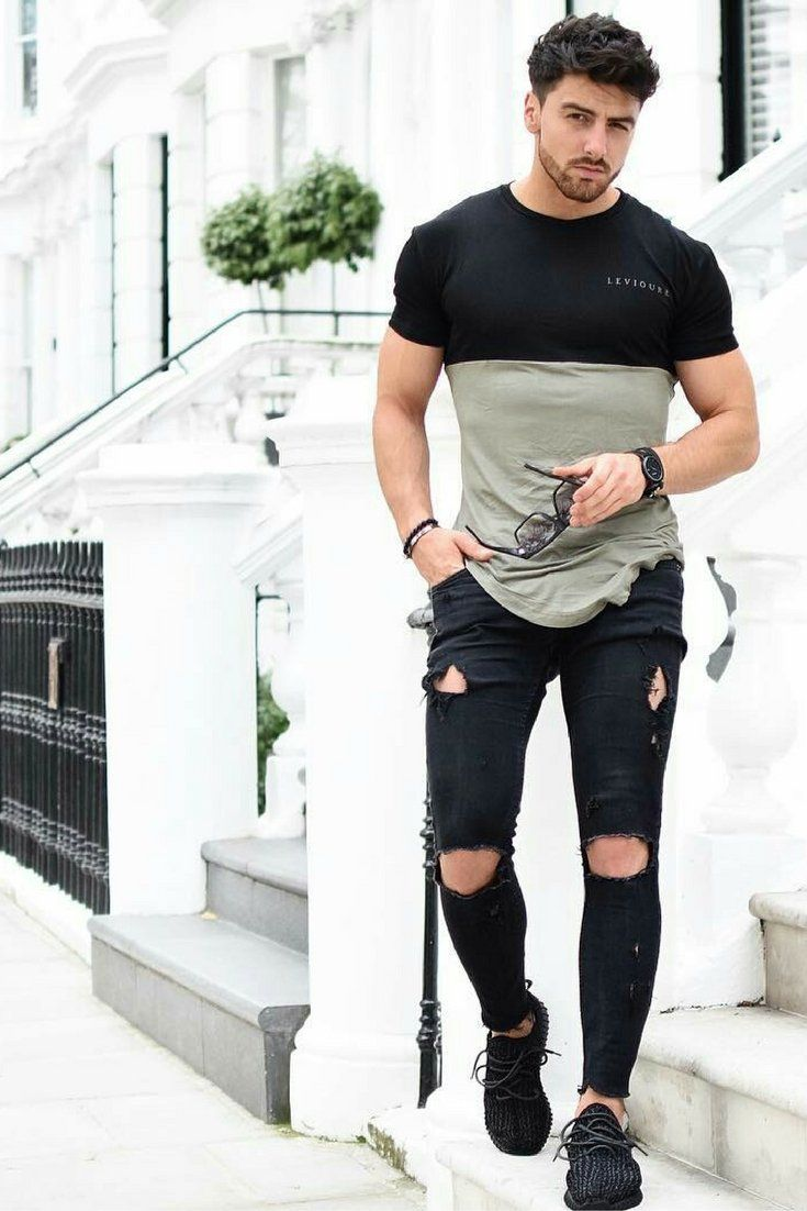 how to wear skinny jeans for men.