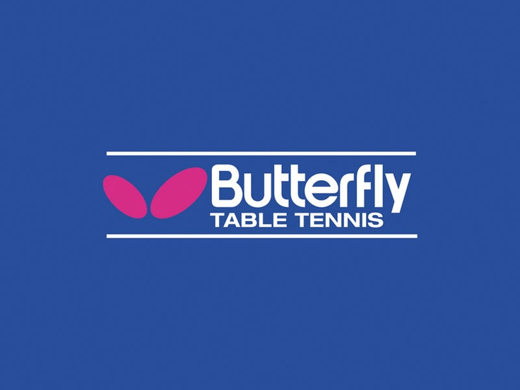 "Butterfly, ""living table tennis."""