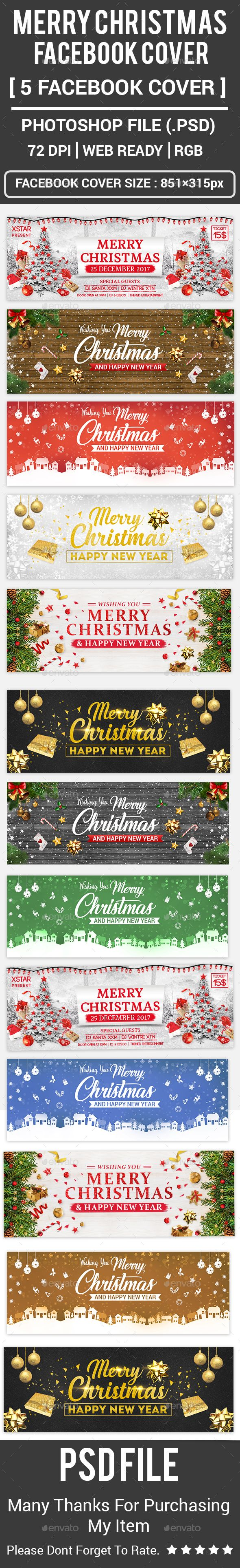 Merry Christmas #Facebook Covers - Facebook Timeline Covers #Social Media