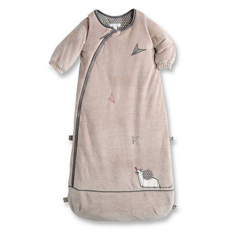 Gigoteuse bébé zippée manches longues - Okaidi