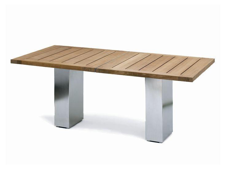 DOBLE | Teak Table. Teak TableTable SeatingModern Dining TableGarden  TableClassic ...