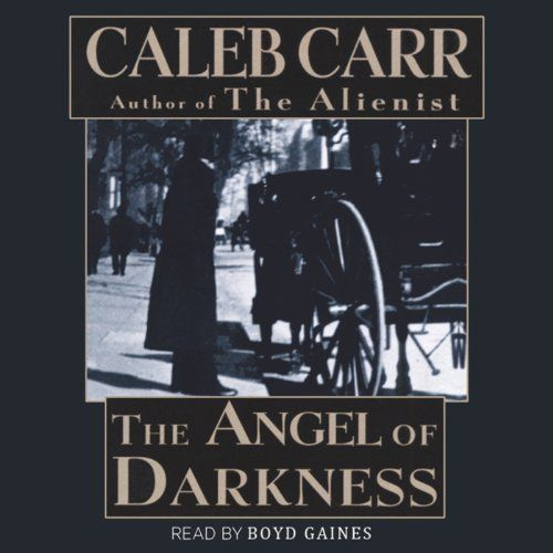 "Another must-listen from my #AudibleApp: ""The Angel of Darkness"" by Caleb Carr, narrated by Boyd Gaines."