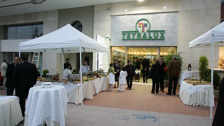 Εγκαίνια Χρωματοπωλείο ΚαλαμαριάςTetralux Stores