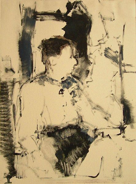 Robert D'Arista, 1929-1987, monotype. Robert D'Arista Prints 1978