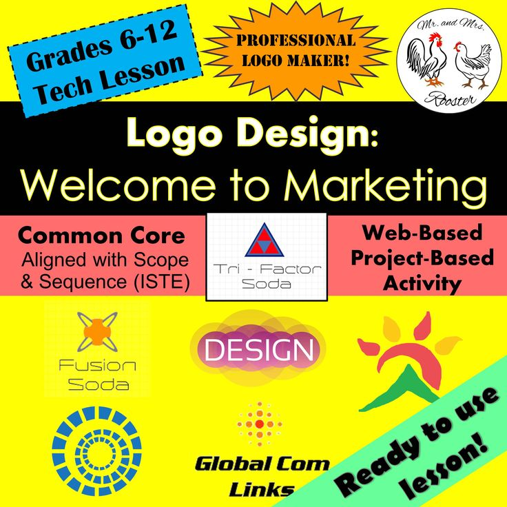 Tech lesson logo design welcome to marketing - Design and technology lesson plans ...