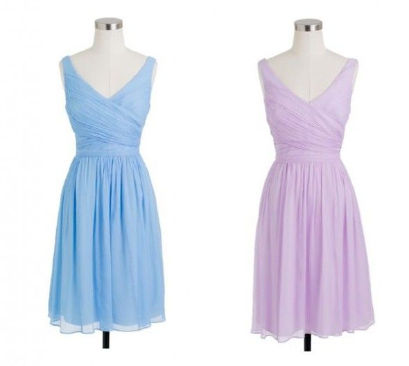 J.Crew bridesmaid dresses from rusticweddingchic.com