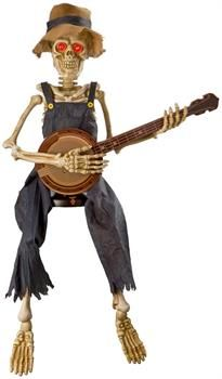 NEW GID HALLOWEEN SKELETON WITH BLINKING EYES Party Supplies