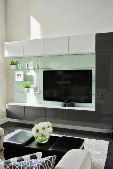 die besten 25 moderne fernsehschrankwand ideen auf pinterest ikea tv ikea wohnzimmer und tv. Black Bedroom Furniture Sets. Home Design Ideas