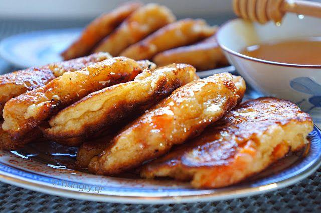 Τηγανίτες με Τυρί Κρέμα & Φρέσκα Βερίκοκα