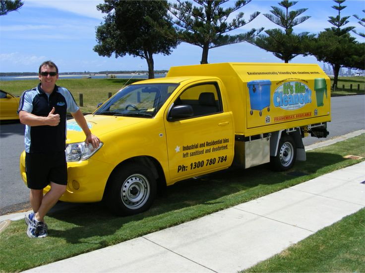 "It's Bin Cleaned ticked the boxes and due to it's low running costs and efficient systems, I felt good about getting involved"". Ben Milham – It's Bin Cleaned South Central Gold Coast. Started operation in Feb 2008."