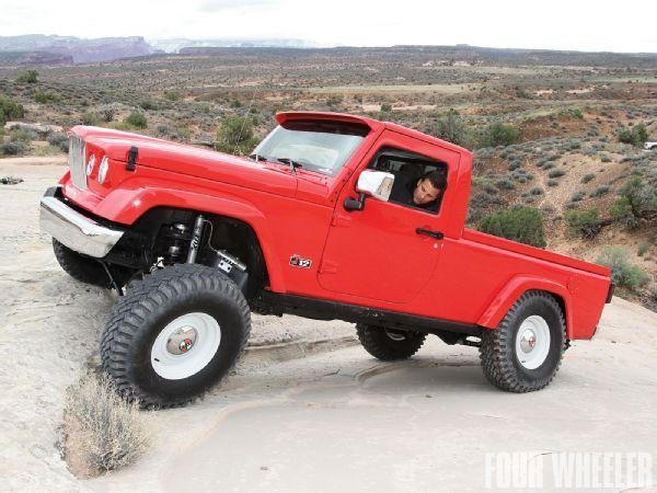 2012 Jeep J 12 Concept Front Three Quarter