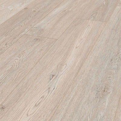 Fehér tölgy fózolt laminált padló 10 mm