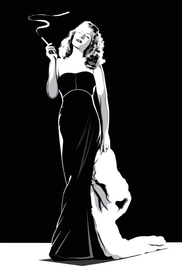 Rita Hayworth by pin-n-needles.deviantart.com on @deviantART