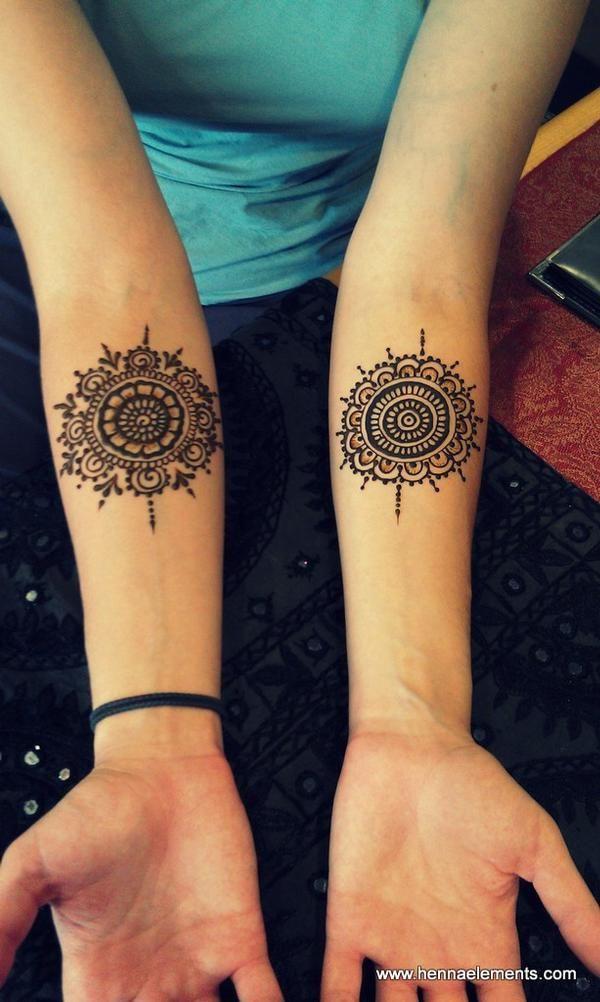 henna mandalas