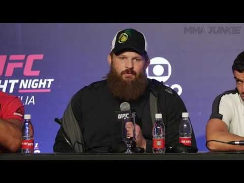 MMA Roy Nelson explains why he got so upset at referee at UFC Fight Night 95