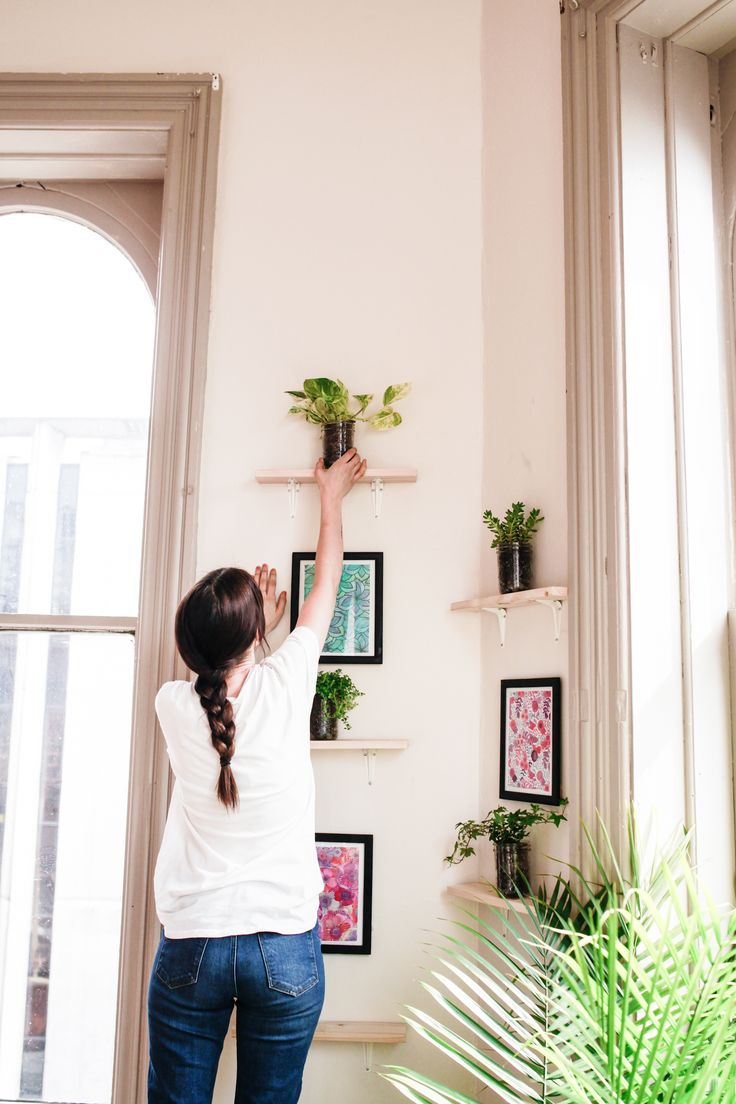 Plants + Prints DIY // Brighten up that lonely corner — Treasures & Travels