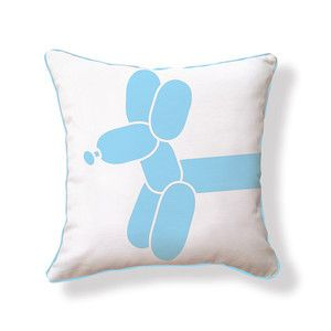 Little Balloon Dog Pillow, $35, now featured on Fab.