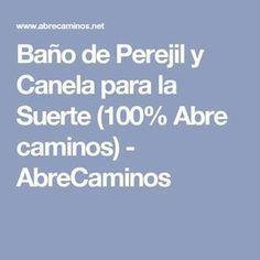 Baño de Perejil y Canela para la Suerte (100% Abre caminos) - AbreCaminos