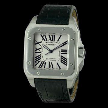 CARTIER - Santos 100 XL, cresus montres de luxe d'occasion, http://www.cresus.fr/montres/montre-occasion-cartier-santos_100_xl,r2,p24648.html