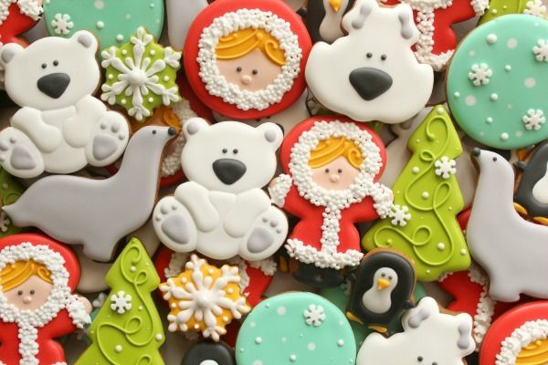 Polar Pals Cookies!! {SweetSugarBelle} #winter #christmas