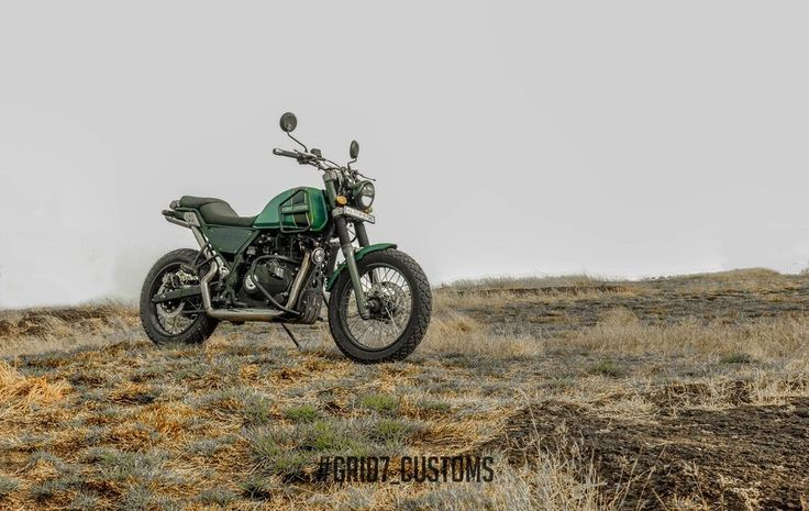 Restored Royal Enfield Himalayan by GRID7 Customs | 350CC.com