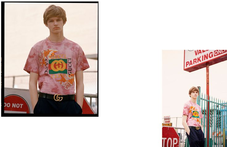 The geniuses over at Gucci have just launched the kind of pre-fall collection that'll pick your wallet from your back pocket without you even knowing. It goes hard on the logo t-shirts you've been frothing since they went down the runway at the house's SS17 show in September, and hasn't downplayed the double-G belt buckles or embroidery — which is crawling all over both clothing and footwear.   To celebrate the launch, Oyster has produced a dreamy shoot in collaboration with G...