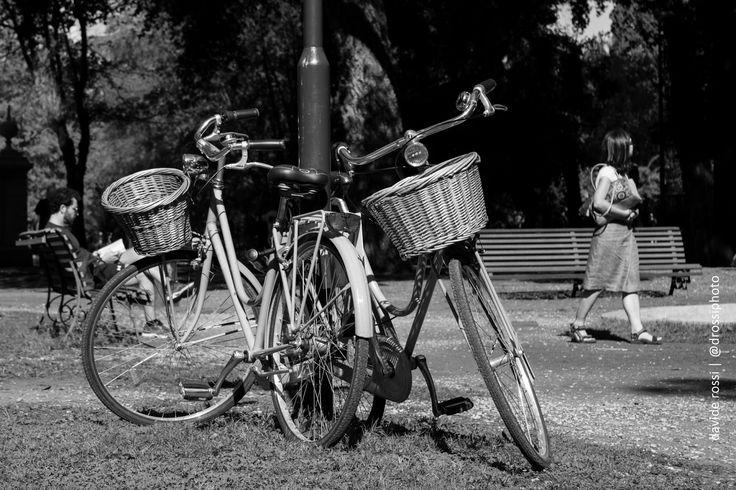 photographic notes: Villa Borghese in coppia #bike | Davide Rossi Fotografia