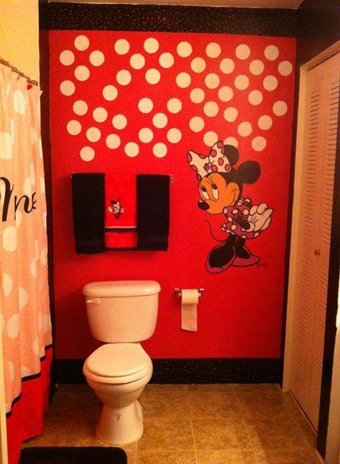 18 best images about minnie mouse bathroom ideas on pinterest - Disney mickey mouse bathroom decor ...