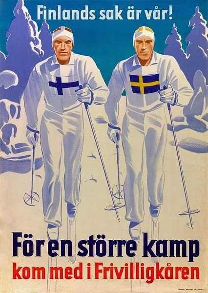 Finlands sak är vår! För en större kamp kom med i Frivilligkåren