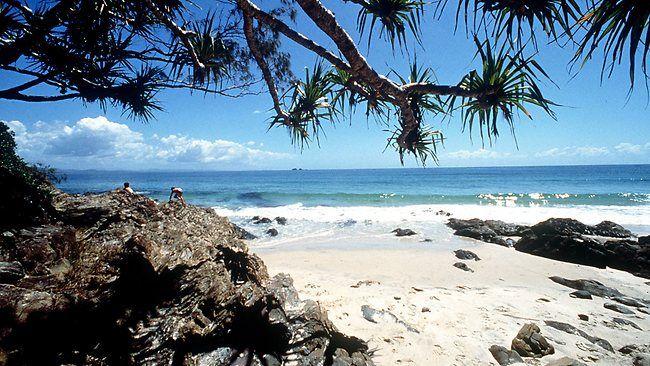 Wategos Beach, Byron Bay.