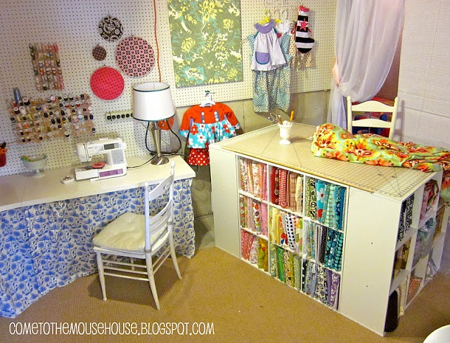 Craft Room Island Work Table CK IDEAS Pinterest