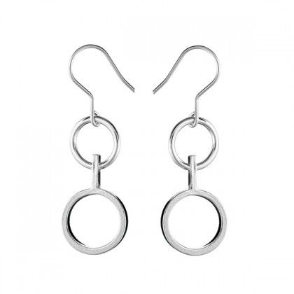 Kalevala Koru / Kalevala Jewelry / Inger-korvakorut / Inger Earrings / Design Inger Lindholm / Silver or bronze