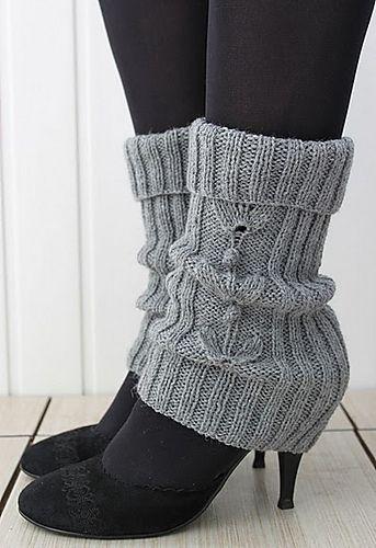 Ravelry: Grey- grey legwarmers pattern by Katya Gorbacheva