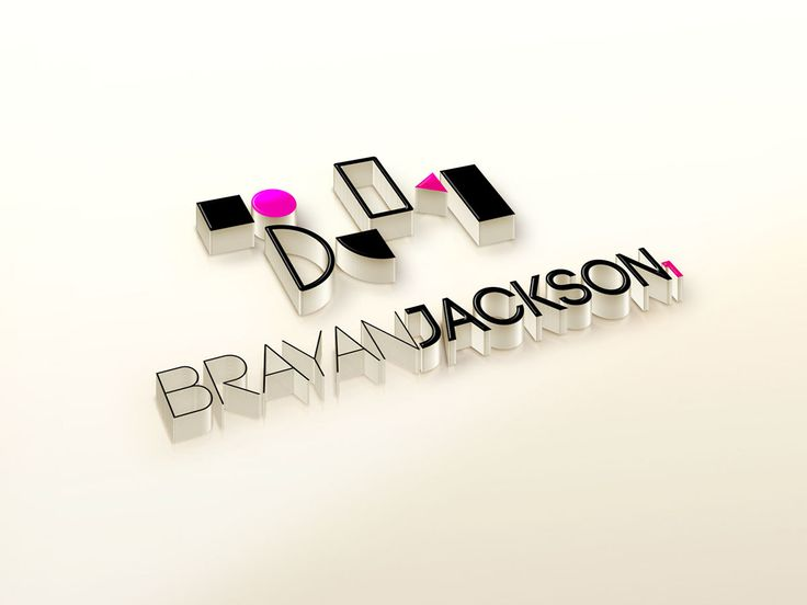 Logo realizado para el imitador #BrayanJackson Diseñado por la agencia de publicidad Laboratorio Grafico.