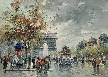Arc de Triomphe, Champs-Elysees
